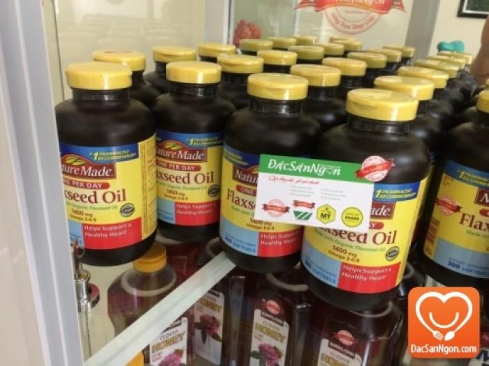 Bảo quản Tinh dầu hạt lanh Nature Made Flaxseed oil 1400 mg Omega 3-6-9 | Để nơi khô ráo, thoáng mát; Tránh tiếp xúc trực tiếp với ánh nắng và côn trùng.