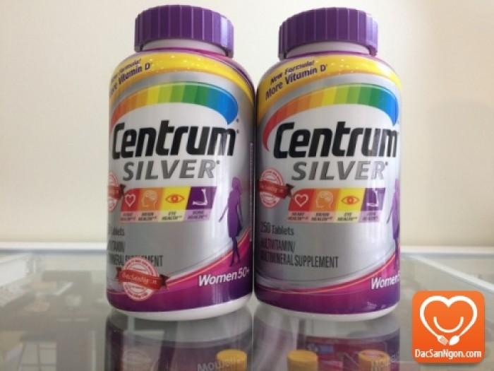 Viên uống Centrum Silver Ultra Women's 50+(viên uống Centrum cho nữ giới trên 50 tuổi) hàng nhập chính hãng USA.