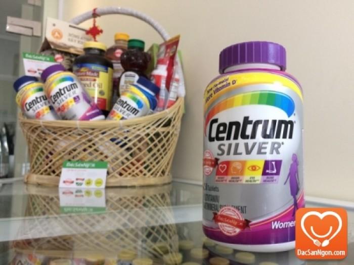Viên uống Centrum Silver Ultra Women's 50+ là viên uống bổ sung vitamin tổng hợp và khoáng chất dành cho nữ giới trên 50 tuổi.