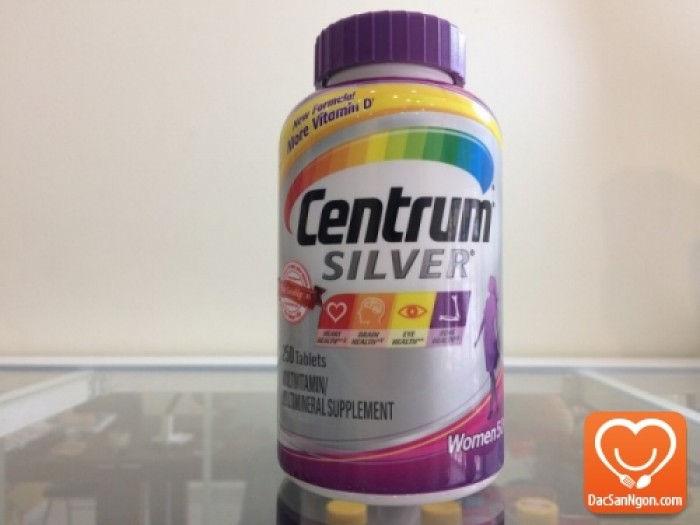 Centrum® Silver® (thương hiệu Vitamin tại Mỹ)