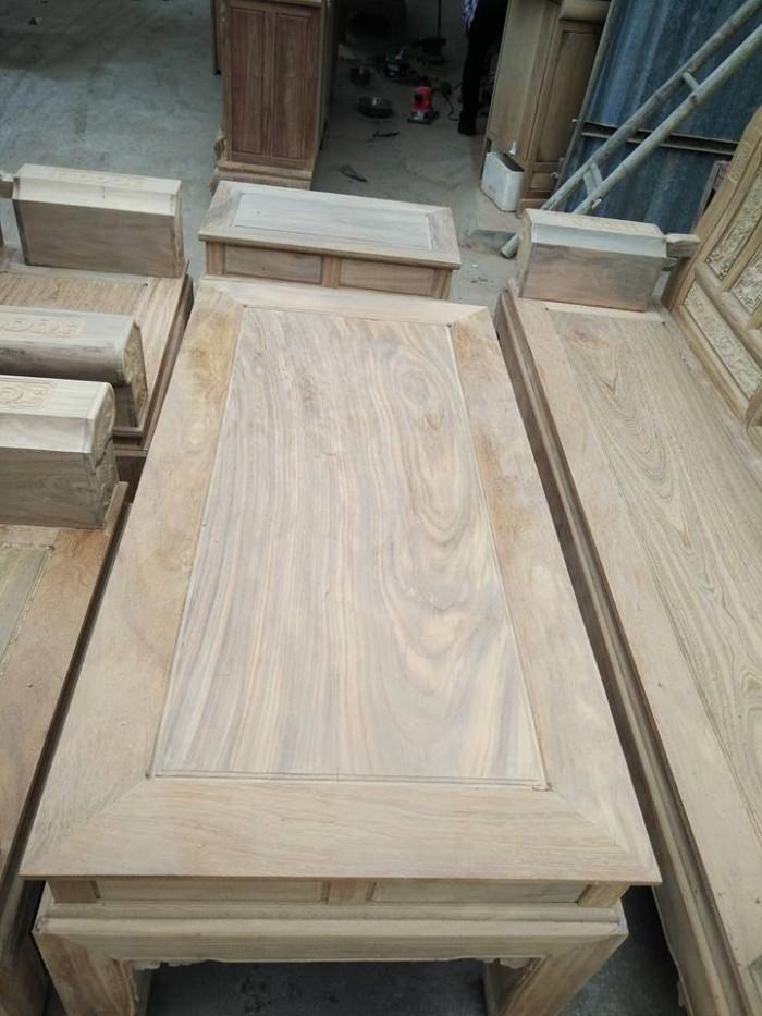 Bộ bàn ghế âu á kiểu cuốn thư tay hộp gỗ lim5