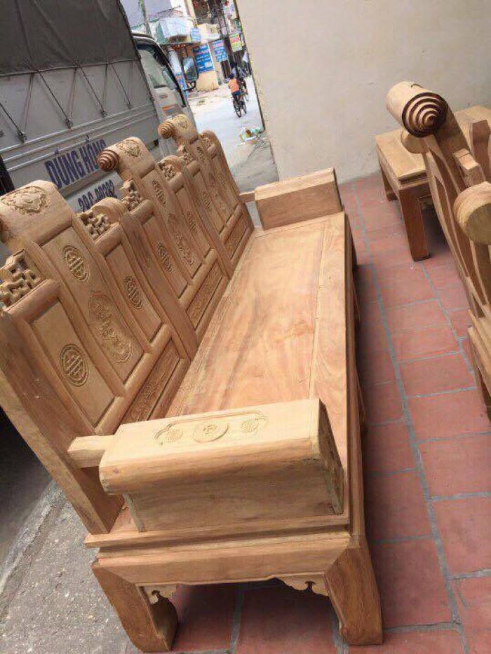 Bộ bàn ghế âu á kiểu cuốn thư tay hộp gỗ lim6