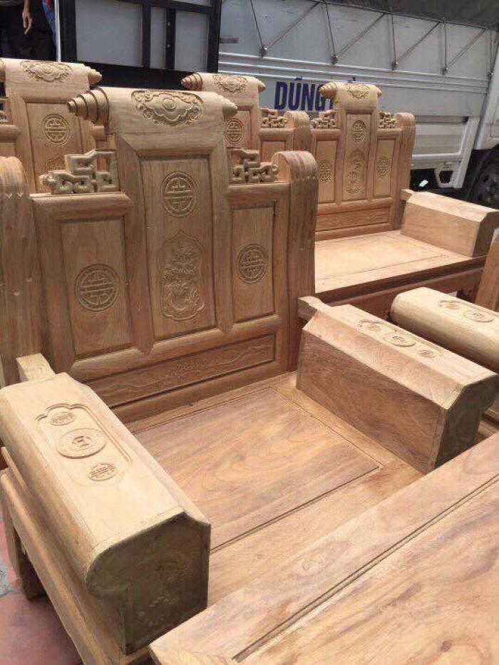 Bộ bàn ghế âu á kiểu cuốn thư tay hộp gỗ lim7