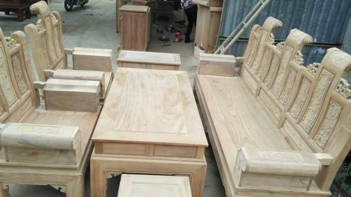 Bộ bàn ghế âu á kiểu cuốn thư tay hộp gỗ lim10