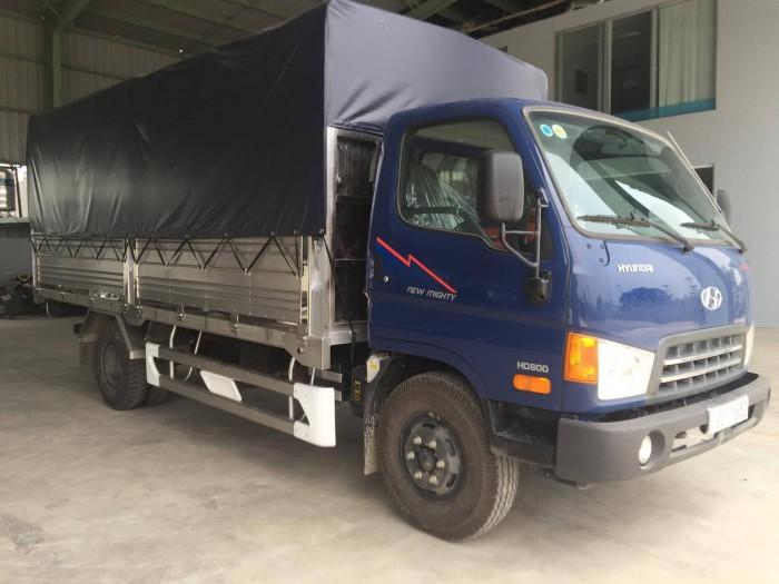 Xe Hyundai nâng tải tải trọng cho phép chở 8.8 tấn đời 2017