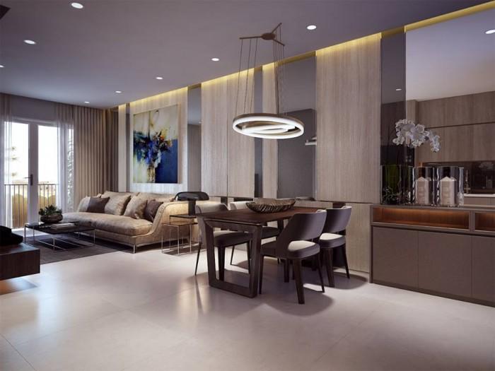 Cần bấn gấp căn hộ The Goldview 2pn,2wc CK 14% full nội thất