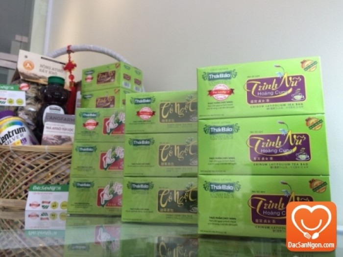 Trà Trinh Nữ Hoàng Cung túi lọc hộp 20 tép Thái Bảo đặc sản Đà Lạt