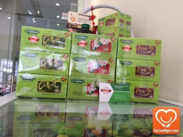 Cung cấp sỉ và lẻ Trà Trinh Nữ Hoàng Cung túi lọc hộp 20 tép Thái Bảo đặc sản Đà Lạt giá sỉ
