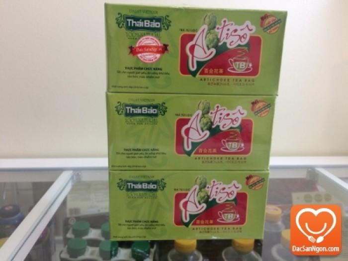 Trà Atiso túi lọc hộp 20 tép thương hiệu Thái Bảo