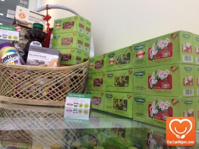 Trà Atiso túi lọc hộp 20 tép Thái Bảo đặc sản Đà Lạt
