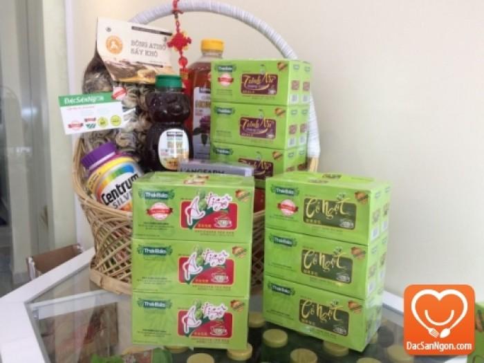 Cung cấp sỉ và lẻ Trà Atiso túi lọc hộp 20 tép Thái Bảo đặc sản Đà Lạt