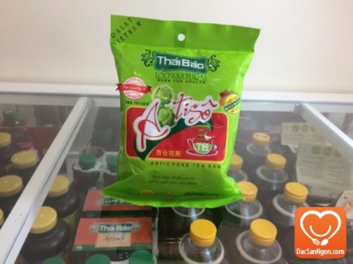 Trà Atiso túi lọc bịch 40 tép Thái Bảo - Tinh hoa thiên nhiên. Món quà cho sức khỏe