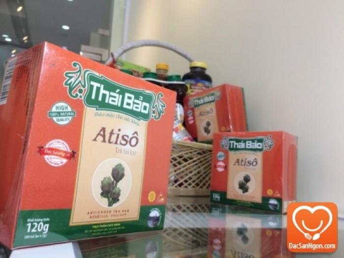 Trà Atiso túi lọc hộp 60 tép thương hiệu Thái Bảo