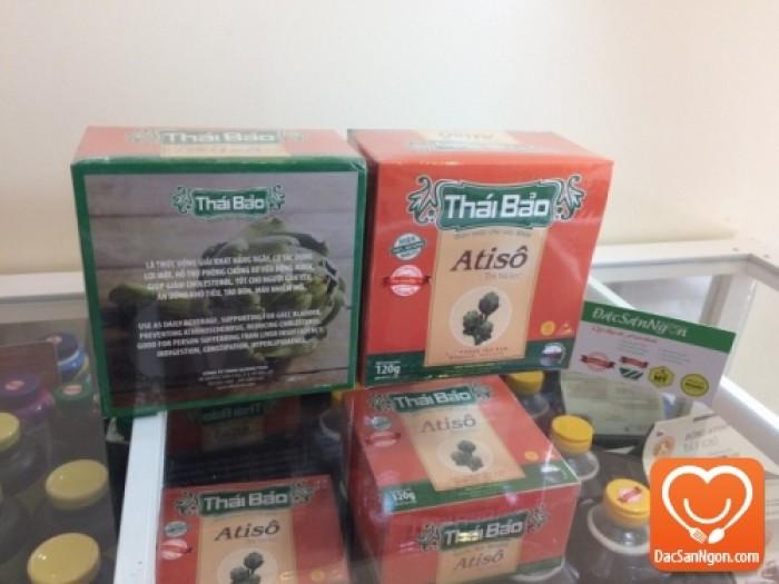 Trà Atiso túi lọc hộp 60 tép Thái Bảo đặc sản Đà Lạt