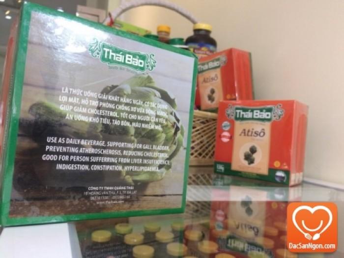 Cung cấp sỉ và lẻ Trà Atiso túi lọc hộp 60 tép Thái Bảo đặc sản Đà Lạt
