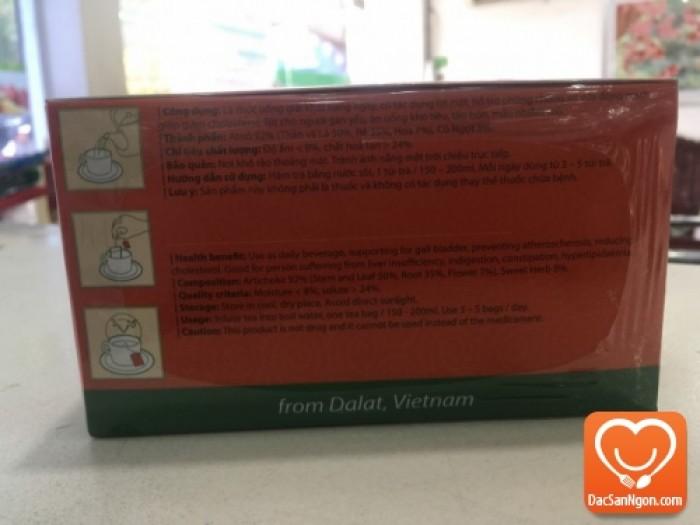 Thông tin sản phẩm Trà Atiso túi lọc hộp 60 tép Thái Bảo
