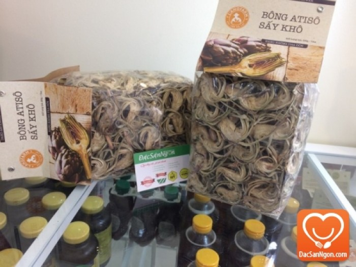 Bông Atiso sấy khô 225g thương hiệu đặc sản Đà Lạt L'ANGFARM