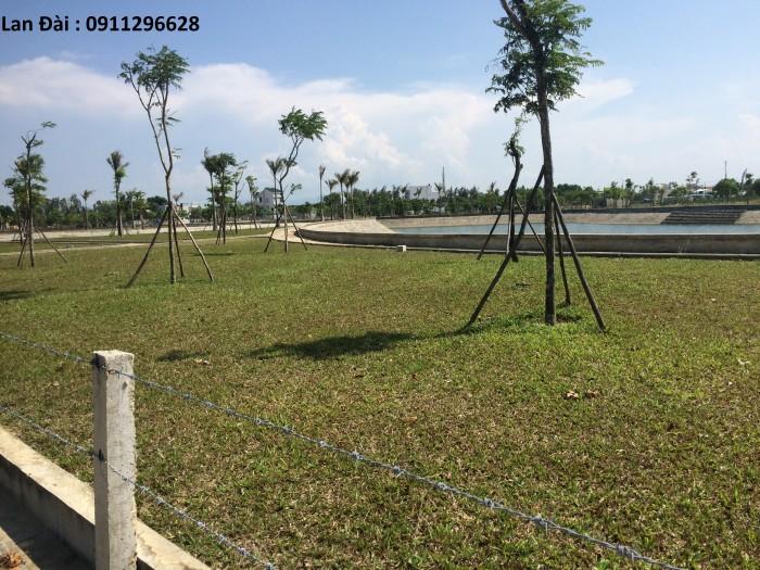 Bán đất mặt tiền KDC Trần Đại Nghĩa giá chỉ 190 triệu/nền.