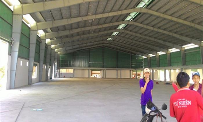 Cho thuê nhà xưởng tại TP Thanh Hóa ở khu CN Tây Bắc Ga 1800m có trạm điện