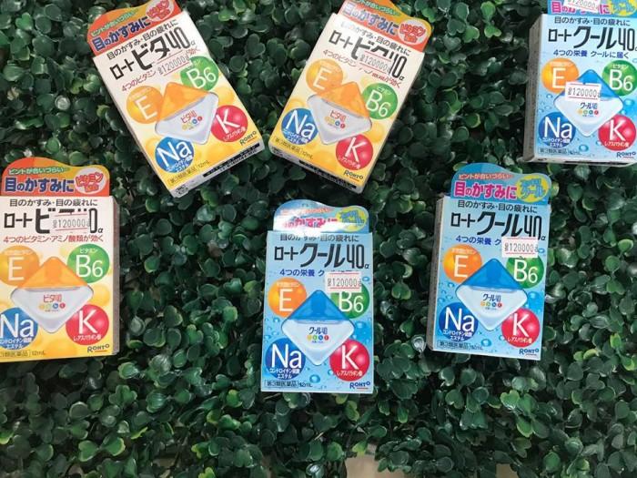 Sản phẩm nhỏ mắt Nhật Bản