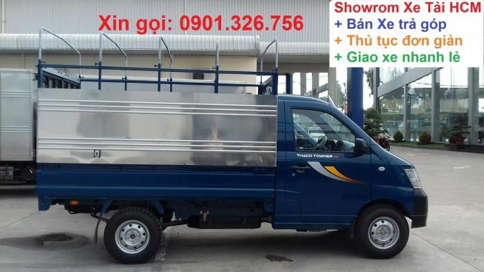 Xe Tải 550Kg, 750kg, 990kg, Xe Tai Thaco Towner990, xe tải dưới 1 Tan tại Tp.HCM, mới 2018