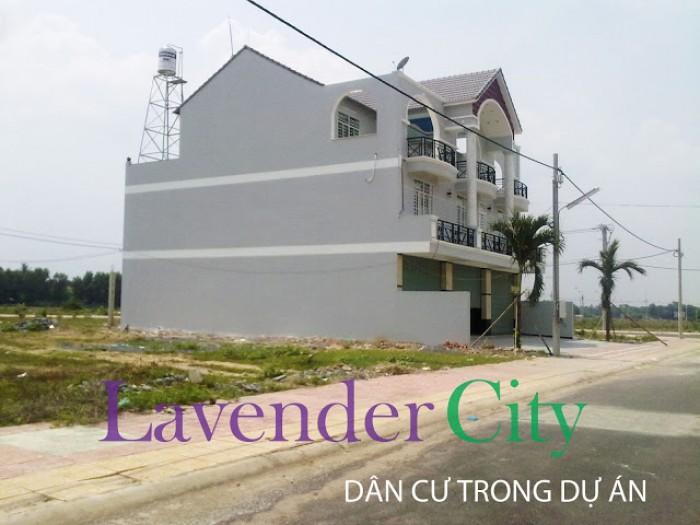 Đất nền dự án khu đô thị Lavender văn minh & hiện đại