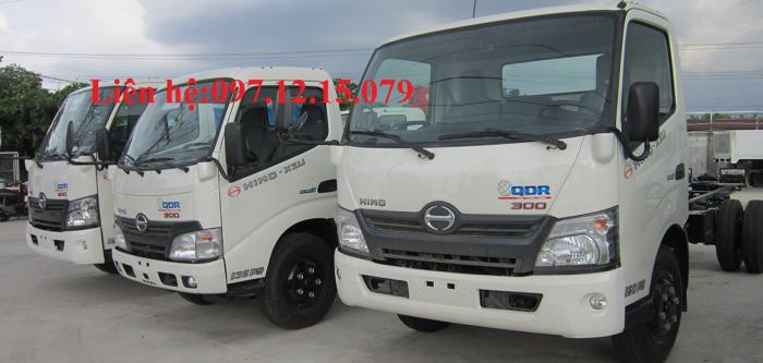 Bán xe tải hino 5 tấn XZU730L giá rẻ, chất lượng  hàng đầu thế giới