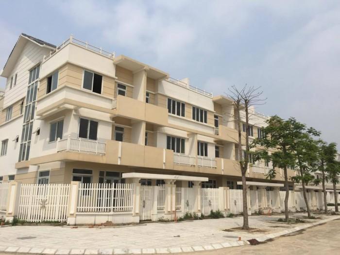 Bán biệt thự  mặt đường Lê Trọng Tấn,Dương Nội,Hà Đông (120m2,4T) hướng ĐN,gần bể bơi,trường.