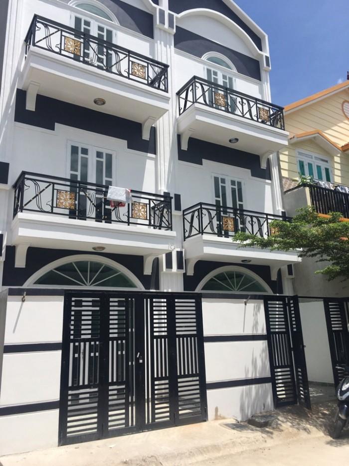 Nhà mới xây Nguyễn Hữu Thọ
