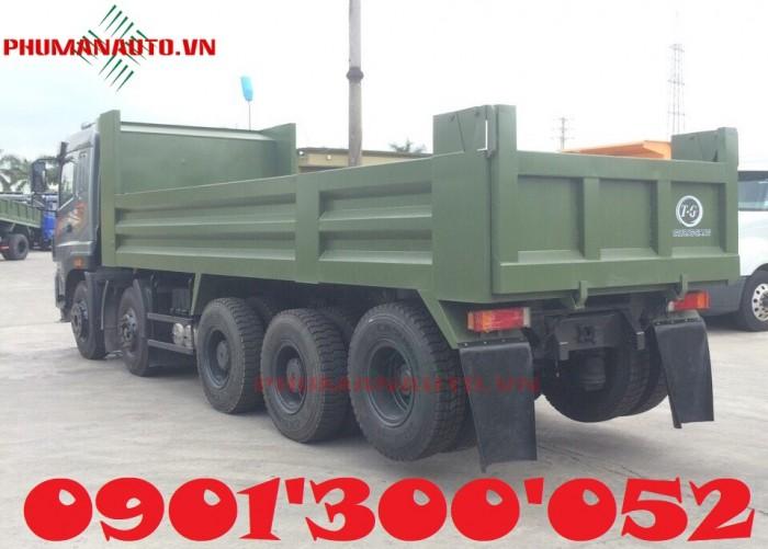 Xe ben Dongfeng Trường Giang 5 Chân – 18 tấn – 18T uy tín Sài Gòn