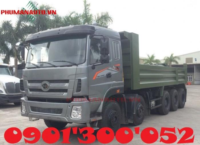 Xe ben Dongfeng Trường Giang 5 Chân – 18 tấn – 18T uy tín Sài Gòn 3
