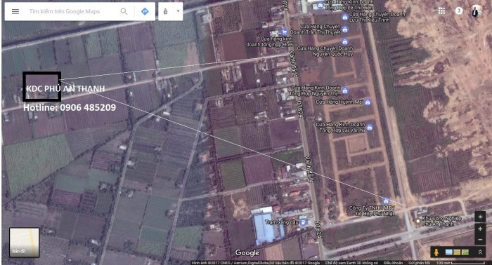 Vị trí VÀNG đắc địa: Khu Dân Cư Phú An Thạnh tọa lạc tại tỉnh lộ 830,Lương Hoà,Bến lức, Long An