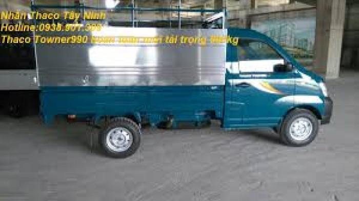 Giá xe tải nhỏ máy xăng 500kg,700kg,990kg,xe towner990, xe tải thaco towner990 - 990kg,chỉ với 70 triệu là có xe ngay. 3