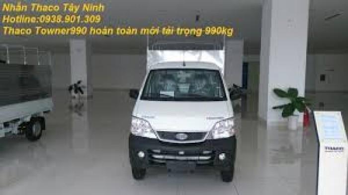 Giá xe tải nhỏ máy xăng 500kg,700kg,990kg,xe towner990, xe tải thaco towner990 - 990kg,chỉ với 70 triệu là có xe ngay. 4