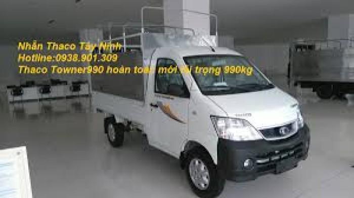 Giá xe tải nhỏ máy xăng 500kg,700kg,990kg,xe towner990, xe tải thaco towner990 - 990kg,chỉ với 70 triệu là có xe ngay. 6