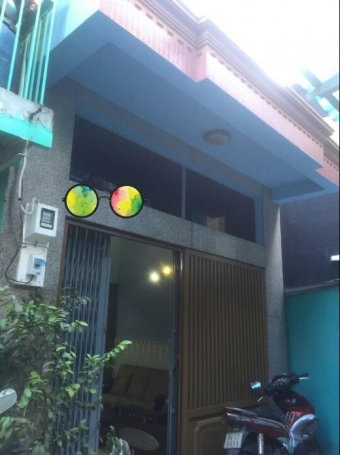 Nhà hẻm một xẹt 1507 Phạm Thế Hiển, phường 6, Quận 8