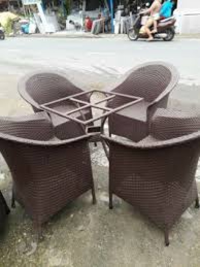 Bàn ghế cafe cao cấp cần thanh lý giá rẻ nhất