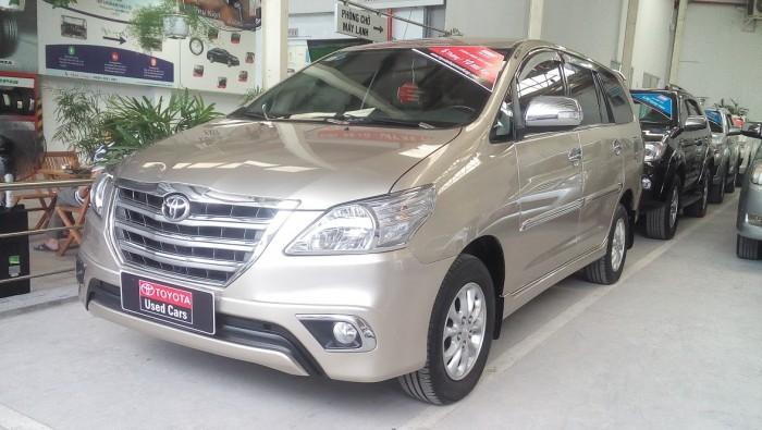 Toyota Innova V sản xuất năm 2014