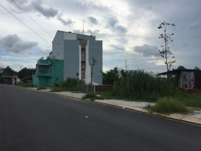 Chính chủ bán hơn 260m2 sổ hồng riêng, TT Đức Hòa,gần trường học,an cư, xây biệt thự vườn khá tốt