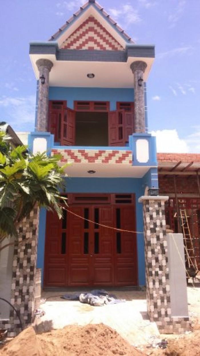 Bán giá rẻ nhà mới xây 100% 1 trệt 1 lầu đường Nguyễn Văn Bứa_Hóc Môn