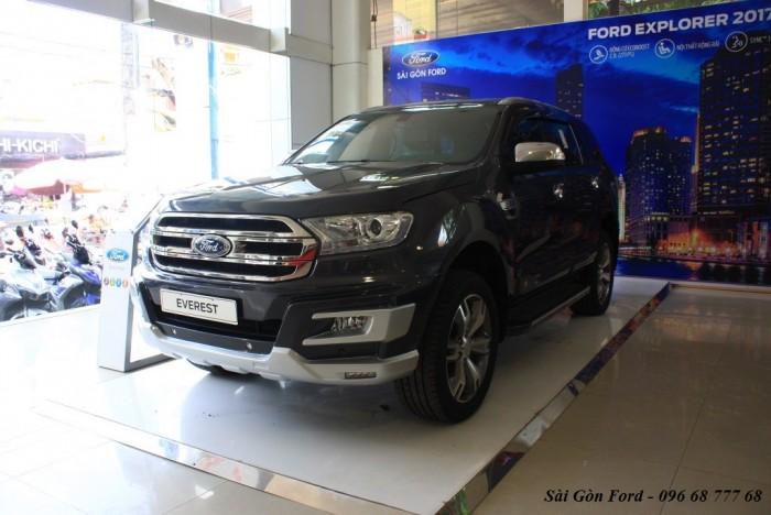 Khuyến mãi mua xe Ford Everest 2017, giao xe tháng 08/2017