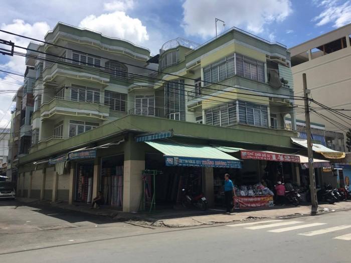 Bán toà nhà 2 MT Lê Minh Xuân, P.7, Tân Bình, 16.8x27m, 3L - 85 tỉ