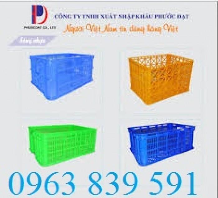 rổ nhựa công nghiệp2