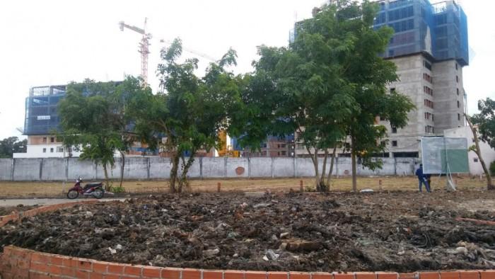 Bán gấp lô đất nền thổ cư 100%, Hai mặt tiền đường 29m và 8m, sổ hồng riêng từng nền,đối diện công viên