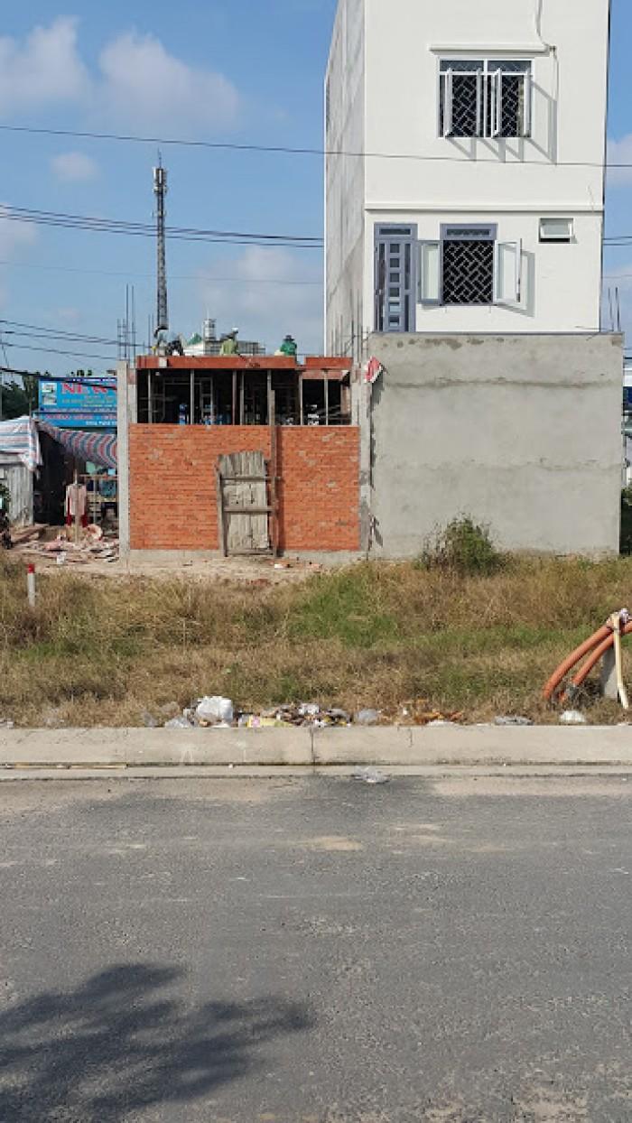 Bán Đất Quận 12, Dt: 5Mx20M, Sổ Hồng Riêng,Thổ Cư 100%,Bao Gpxd.