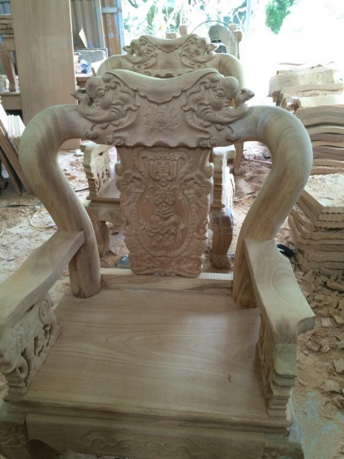Bộ bàn ghế minh quốc voi gỗ gõ đỏ2