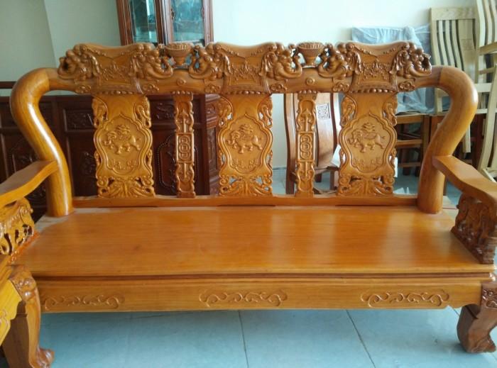 Bộ bàn ghế minh quốc voi gỗ gõ đỏ5