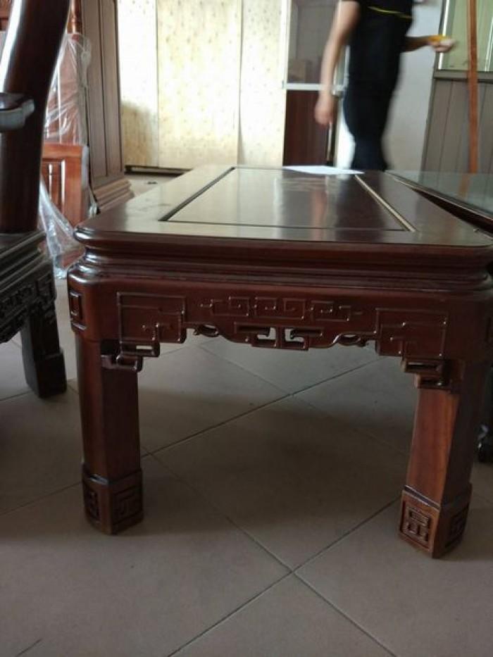Bộ bàn ghế triện gỗ gụ1