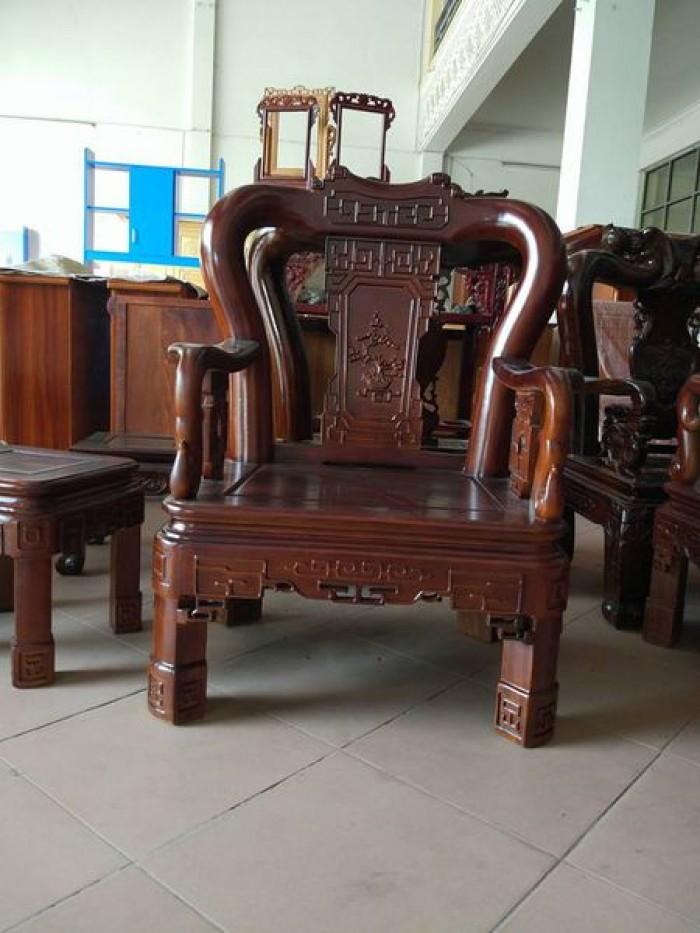 Bộ bàn ghế triện gỗ gụ4