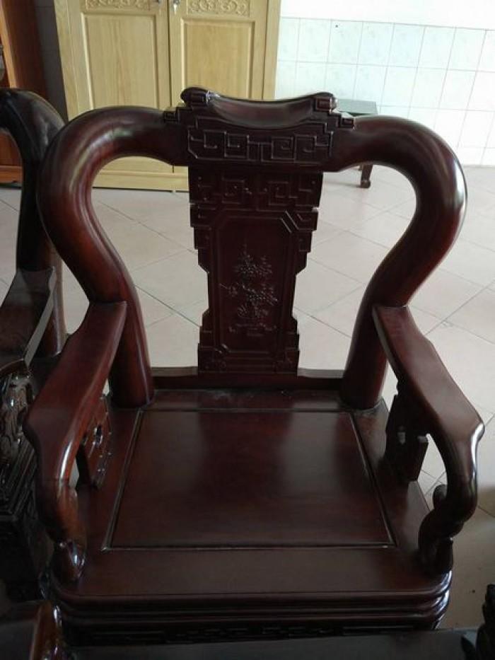 Bộ bàn ghế triện gỗ gụ5